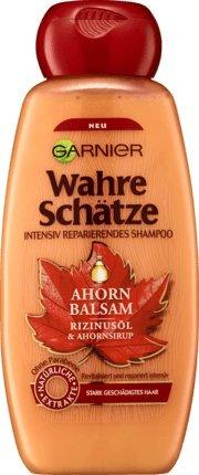 Haarshampoo/Shampoo WAHRE SCHÄTZE - AHORN BALSAM (Rizinusöl + Ahornsirup / 300 ml) FÜR STARK GESCHÄDIGTES HAAR