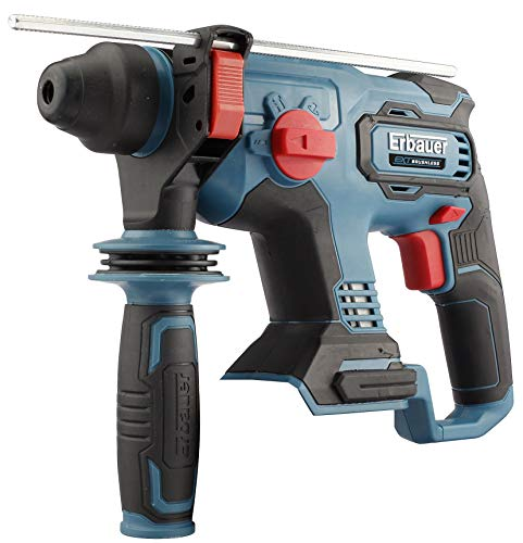 EXT 18V Cordless Fan Cooled Soft Grip Brushless Variable Speed Trigger Switch SDS+ Drill ERH18-Li - Bare