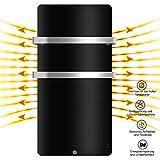 MICRO ENERGY SOLUTIONS Handtuch Heizkörper Bad Handtuchwärmer Elektrisch 580 x