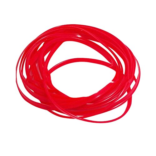 WINOMO 5m bricolage voiture Intérieur Extérieur Décoration Autocollant de ligne bande couture (Rouge)