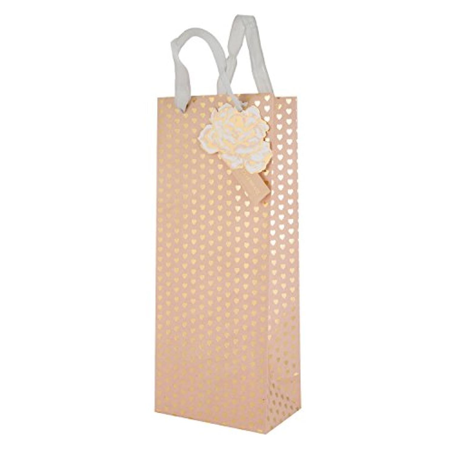 Hallmark Heart Gift Bag 'Foil' - Bottle
