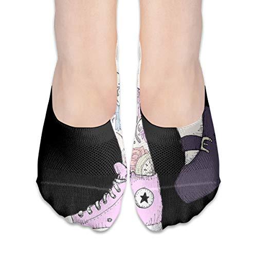 Crew Sock Gaiters Meisjes Schoenen Vrouwen Meisjes Dacht Hoge Boot Sokken