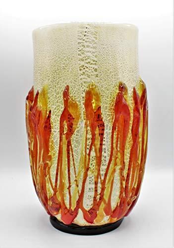Vaas van Murano-glas, gemaakt in Italië
