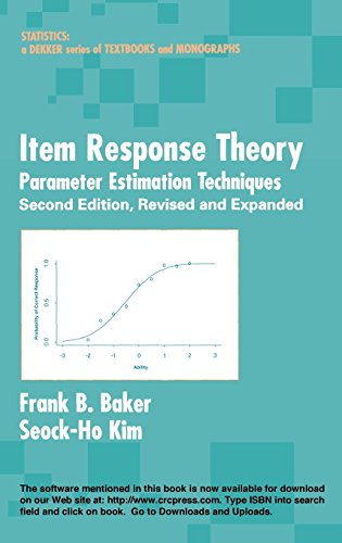 Item Response Theory: Parameter Estimation Techniques, Second Edition (Statistics: A Series of Textb