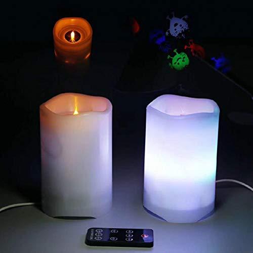 XHSHLID projectielicht in de vorm van een elektrische kaars zonder vlam prinses-serie ster voor decoratie