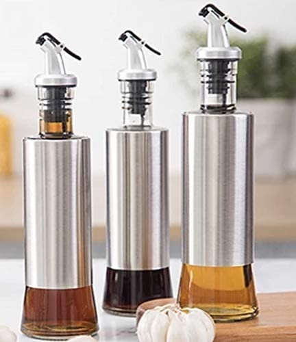 Oil Dispenser Bottle Manufacturer OFFicial shop 10 No Spills Beauty products oz Vinegar