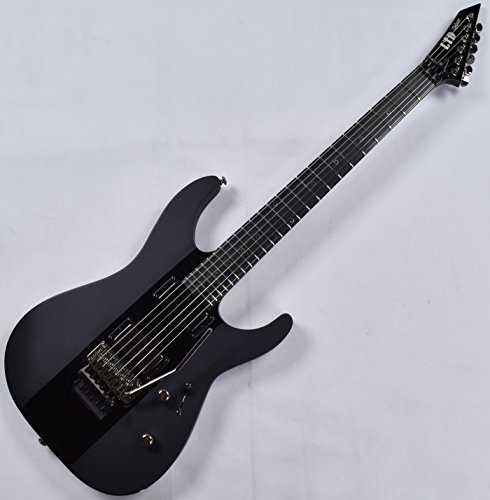 Cheap ESP LTD Deluxe M-1000 Electric Guitar in Satin Black with Gloss Stripe Black Friday & Cyber Monday 2019