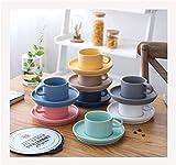 Copa de café espresso, taza de viaje, taza de la taza de cristal, taza de té de China, taza de té, taza de café, taza de té, taza de café, taza de café cerámica helada de 8 piezas, taza de té de la ta