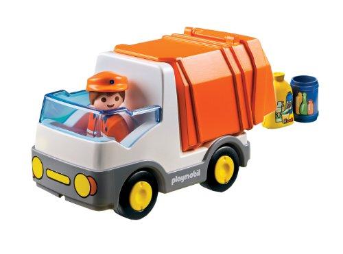 Playmobil - 1.2.3 Camión de basura (6774) , color/modelo surtido