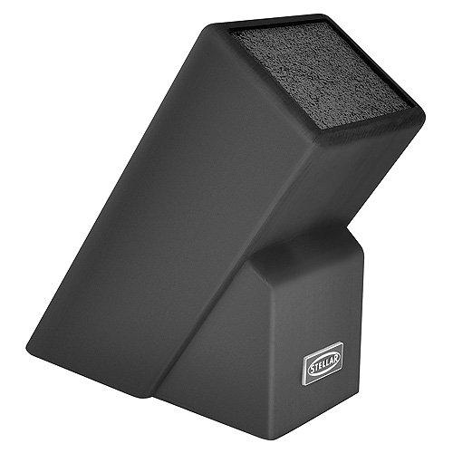 Horwood Homewares SK92B Universal Knife Block, Black