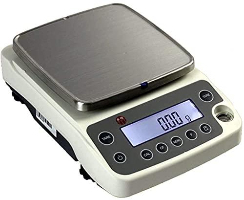 XJYDS 0.01g Electronic Precision Balance Contando Joyería/Alimentos Escala de pesaje Escala de Cocina Digital RS232 Escala Inteligente de Carga (5200 g / 0.01g) (Size : 5200g/0.01g)