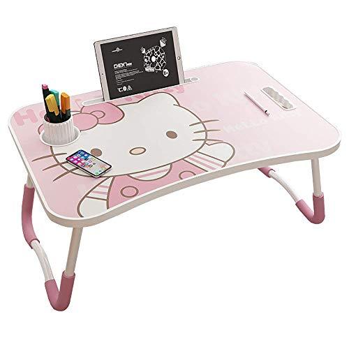 HUHN Escritorio para computadora portátil, bandeja de cama para computadora portátil portátil...