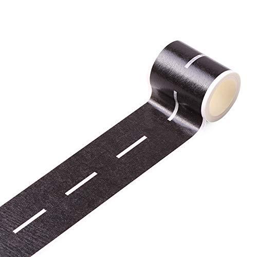 Preisvergleich Produktbild aaerp Heimwerker-Klebeband,  Eisenbahn,  abnehmbare Schiene,  Papier,  Ordinary Road Tape,  5m*4.8cm