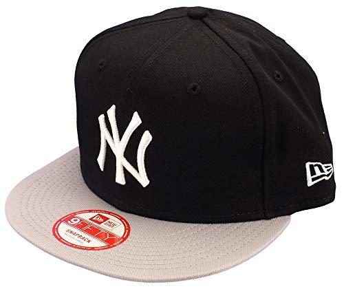 New Era New York Yankees Snapback Mlb Cotton Block 9fifty Black / Grey / White - S-M