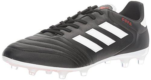 adidas Men's copa 17.2 fg Soccer Shoe White/Black, ((10 M US)
