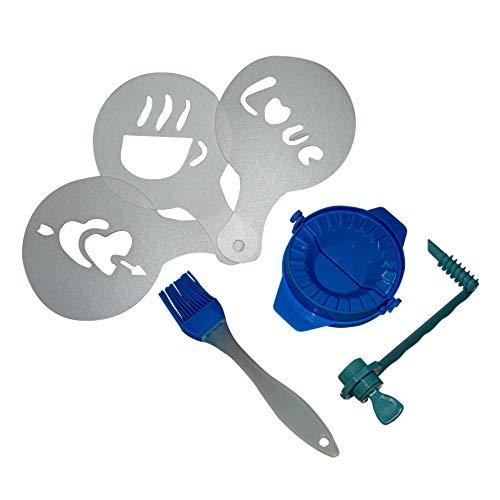 GS1 HONDURAS SendingClick - Pack moldes para empanadillas - Moldes de café- Cortador de Patata en Espiral - Pinceles de Cocina - Packs de Cocina - Utensilios de Cocina.