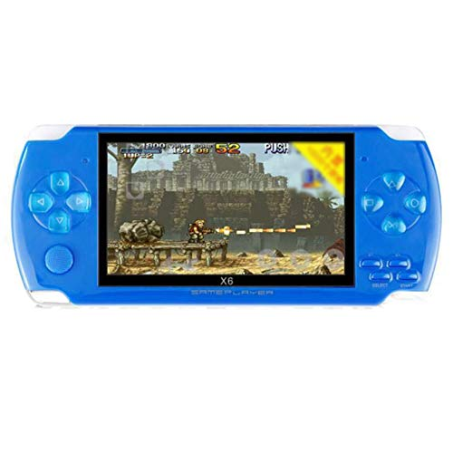 Mrinb 4.3 Inch Retro Handheld Game Console, 8GB Vintage Classic Games Machine, TF Card MP4/ 5 Player