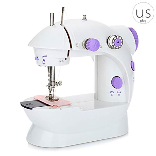 %32 OFF! YOSIYO Mini Electric Sewing Machines Portable Practical Household Dual Speeds Adjustment wi...