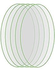 EElabper Sledzenia folie ochronne Zgodne z Airtag TPU Key Finder przeciw zarysowaniom ultra cienkiej ochronnej hartowane filmowym 5Pcs