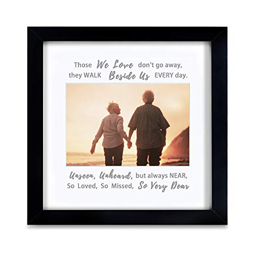 IHEIPYE Memorial Picture Frame - Sympathy Gifts for Loss of Loved One -...