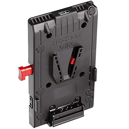 HEDBOX UNIX - Vマウントバッテリーアダプタープレート 3x D-Tap 14.4V 10A & USB 5V 2.1A電源出力