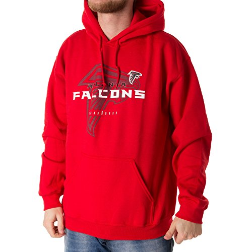 Majestic Athletic - NFL Atlanta Falcons Great Value Hoodie - red Größe L