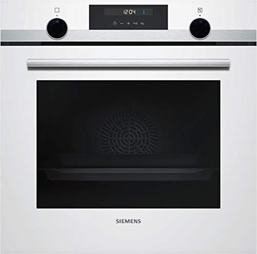 Siemens HB517ABW0 iQ500 Einbau-Elektro-Backofen / A / cookControl10 / Schnellaufheizung / 3D Heißluft plus / Weiß