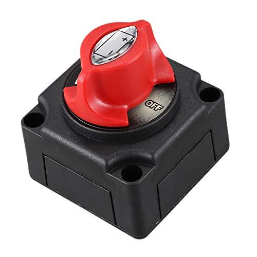 TOOGOO Coche 300A Aislador De Batería Desconectador Cortacircuitos Interruptor De Desconexión para Coche Barco Yate ATV