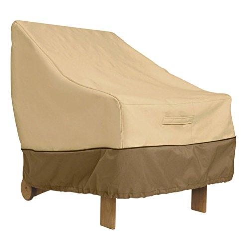 Classic Accessories 78932Veranda–para silla de jardín de espalda alta, Pebble/corteza/tierra acabado