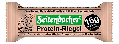 Seitenbacher Protein Riegel Schoko, 12er Pack (12 x 60 g)
