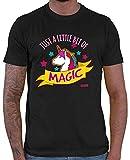 Hariz Just A Little Bit of Magic Unicornio Animales Zoo Plus Tarjetas de regalo Negro XXXL