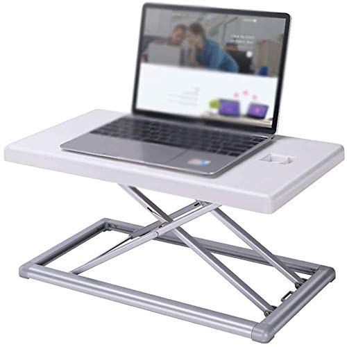 Raxinbang Folding Table Foldable Lift Bracket Aluminum Ergonomics Design Portable Laptop Stand Overbed Or Laptop Table for Eating, Working, Writing, Gaming, Drawing Laptop Bed Tray Desk
