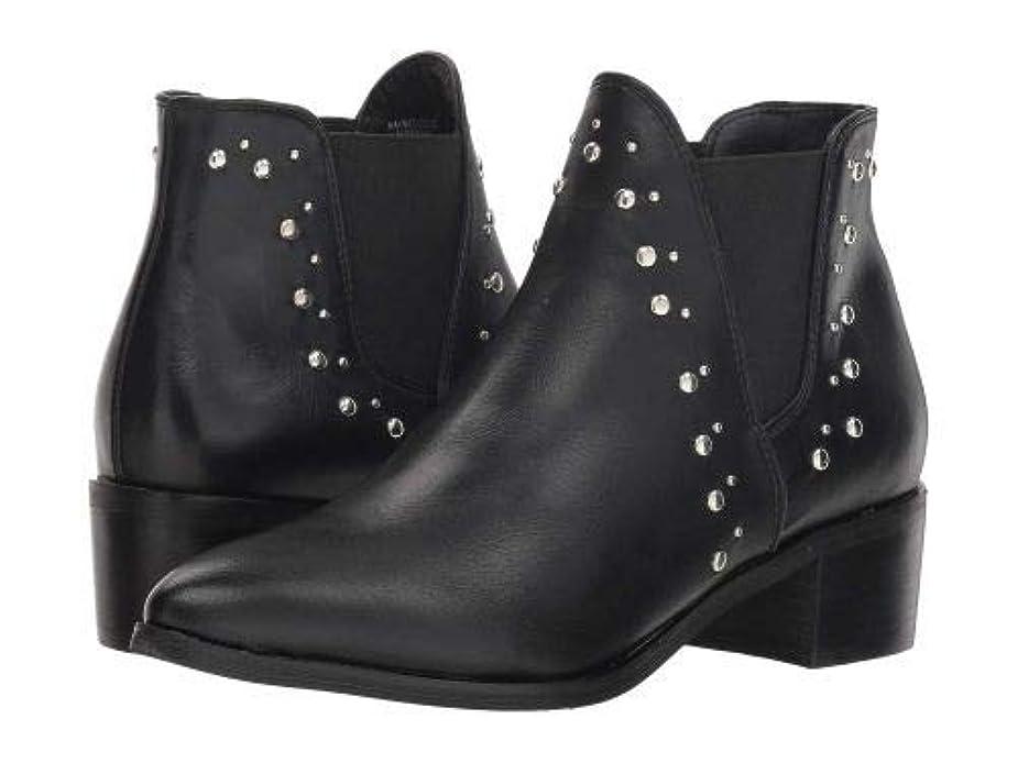 遺体安置所乱雑な期間Steve Madden(スティーブマデン) レディース 女性用 シューズ 靴 ブーツ アンクルブーツ ショート Ambitious - Black [並行輸入品]