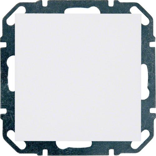 Hager Blindabdeckung bws WYE630 mit Tragring kallysto Abdeckung/Bedienelement für Installationsschalterprogramme 3250617020985