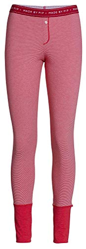 PiP Studio Damen Bobs stripers Leggings Long Homewear Freizeithose, Grösse:XXL - 44, Farbe:rot