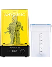 ANYCUBIC Wash Cure Machine Plus , 2 in 1 UV Washing and Curing Station for Photon Mono X, LCD SLA DLP 3D Resin Printer,Curing Size: 190mm(D) 245mm(H)