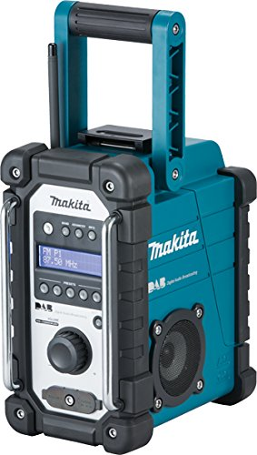Makita DMR109 10.8V to 18V Li-Ion CXT LXT Dab Job Site Radio - Battery and Charger Not Included