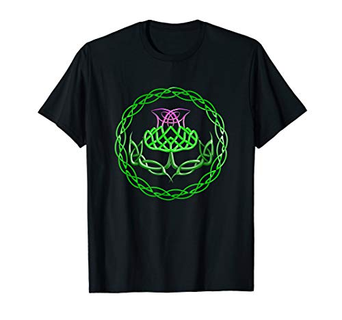 The Scottish Thistle Celtic Knot T-Shirt
