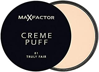 Max Factor Creme Puff Compact Powder - 21 g, 81 Truly Fair