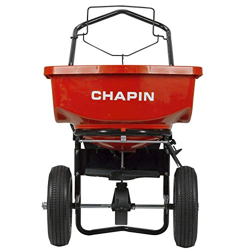 CHAPIN R E 8200A 80LB Residential Turf Spreader 80 lb Red