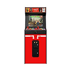 Look and feel of the classic SNK NEOGEO mvs arcade 50 all time favorite SNK games pre-loaded. Including collections from the King of Fighters (10 games), metal Slug (6 games), Samurai showdown (6 games), Fatal fury (8 games), world hereos (6 games), ...