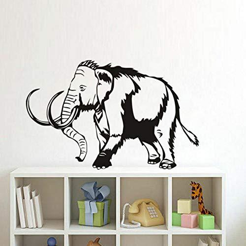 BailongXiao Mammut Wandtattoo African Elephant Kids Room Decorati