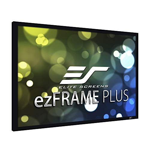 Great Deal! Elite Screens ezFrame Plus Series, 273-inch Diagonal 4:3, Fixed Frame Home Theater Proje...
