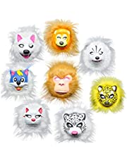BESTOYARD Halloween Costume Makeup Carnival Dancing Party Animal Mask Kids Cosplay Mask Party Favor Decoration