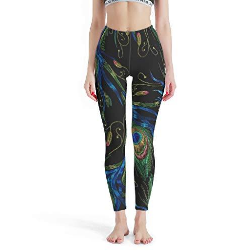 Lind88 - Pilates Broek Vrouwen, Mandala Capris Legging Patronen Gedrukt Hoge Taille Print Leggings Leggings voor Vrouwen