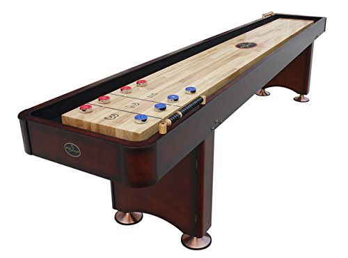 Playcraft Georgetown Shuffleboard Table, Cherry, 14-Feet