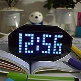 SUYING De Placas de expansión de Prototipo compatibles DIY 525-1605KHZ portátil Am FM Radio Kit 76-108MHz Adecuado for su enseñanza y el Aprendizaje electrónico (Color : Blue)
