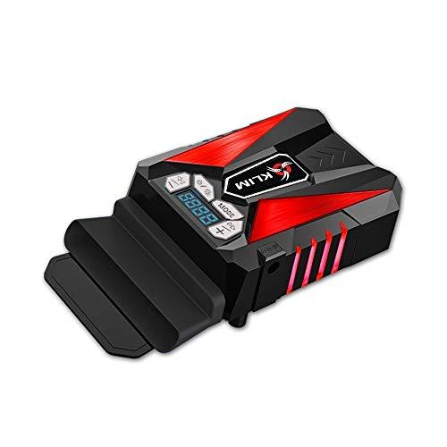 KLIM Cool Universaler Kühler für Spielekonsole Laptop PC – Hochleistungslüfter für Schnelle Kühlung - USB Warmluft-Abzug Rot[ Neue 2021 Version ]
