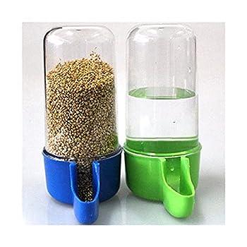 XNBZJ Plastique Automatic Automatic Authésif Alimentateur Canaary Food Water Bottle Bouteille De Stockage Perroquet Cage Boire Conteneur (Size : 200ml)