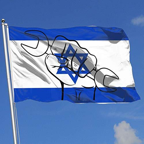 Xhayo Banderas Labor Day 10 Banner Flag Decor Flag Outdoor Garden Flag 3'X5' House Banner